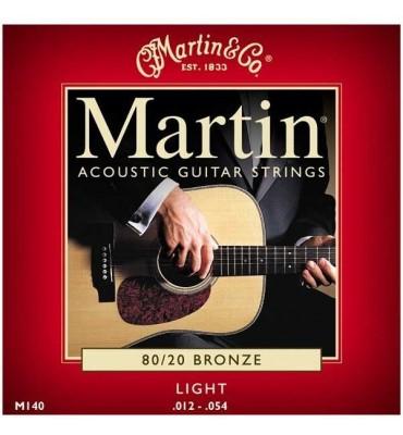Martin M140 012-054 Muta di corde per chitarra acustica