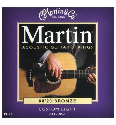 Martin M175 011-052 Muta di corde per chitarra acustica