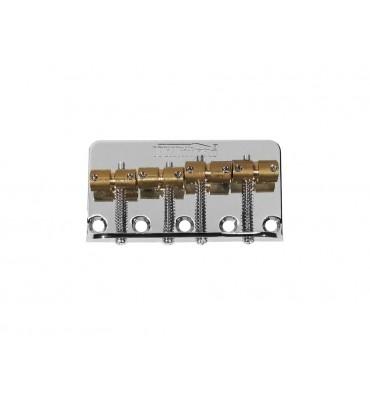 Wilkinson BB-WBBC-C Ponte per basso elettrico 4 corde con sellette in ottone