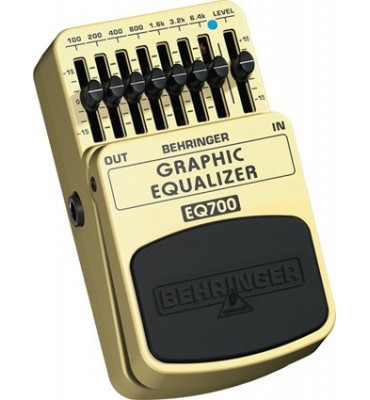 BEHRINGER - EQ700 GRAPHIC EQUALIZER Effetto a pedale per Chitarra