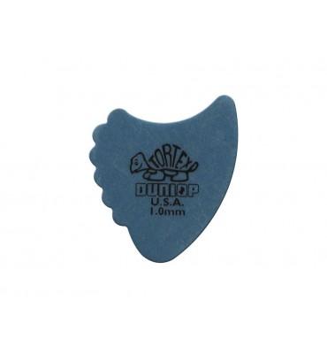 Dunlop 414-R-100/S Tortex Sharkfin Set di plettri per chitarra 12pz