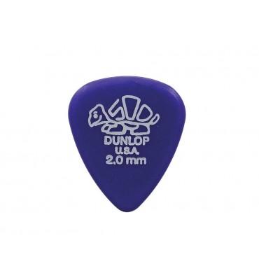 Dunlop 41-R-200/S Delrin Set di plettri per chitarra 12pz