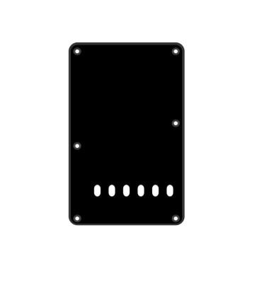 Boston BP-113-BM Backplate tremolo piastra coprimolle per chitarra 86x138mm