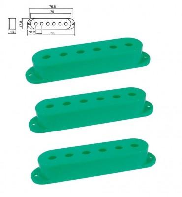 Boston SPC-10-GN Cover per pickup single coil confezione 3pz colore verde