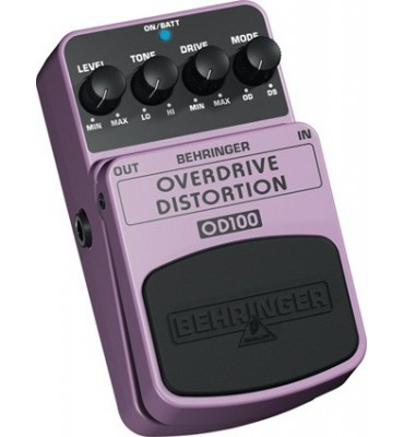 BEHRINGER - OD100 OVERDRIVE/DISTORTION Effetto a pedale per Chitarra