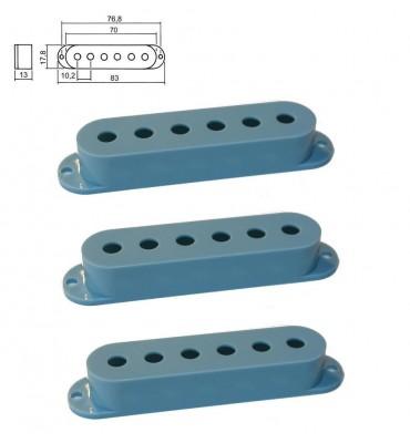 Boston SPC-10-BL Cover per pickup single coil confezione 3 pz colore azzurro