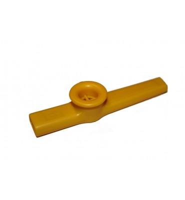 Dadi KA-1-YE Kazoo in plastica di colore giallo