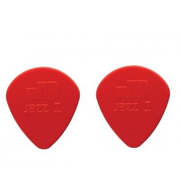 Dunlop 47-R-1N Plettri per chitarra serie Nylon Jazz 1N 1.10mm  2 Pezzi