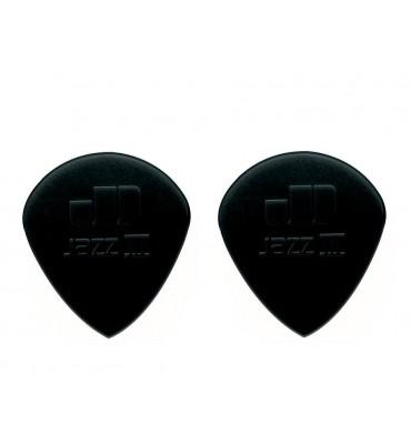 Dunlop 47-R-3S Plettri per chitarra serie Nylon Jazz 3S 1.38mm 2 Pezzi