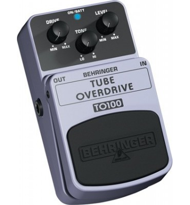 BEHRINGER - TO100 TUBE OVERDRIVE Effetto a pedale per Chitarra