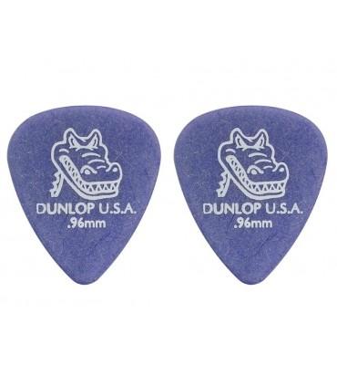 Dunlop 4170-R-96 Plettri per chitarra serie Gator Grip 0.96mm 2 Pezzi