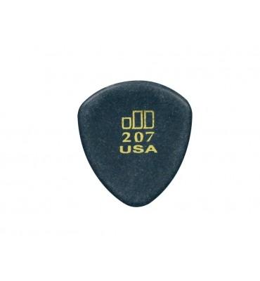 Dunlop 477-R-207 Plettro per chitarra Jazztone 2,00mm punta tonda 1 Pezzo