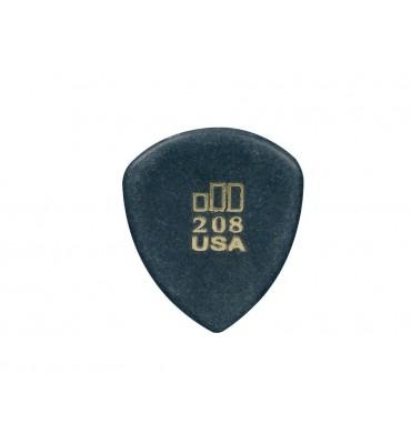 Dunlop 477-R-208 Plettro per chitarra Jazztone 2,00mm punta aguzza 1 Pezzo
