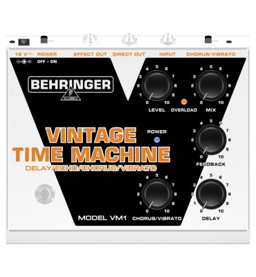 Behringer VM1 Vintage Time Machine Effetto a pedale per chitarra