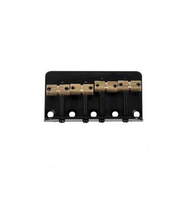 Wilkinson BB-WBBC-B Ponte per basso elettrico 4 corde con sellette in ottone