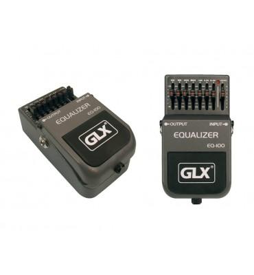 GLX EQ-100 Equalizzatore a pedale per chitarra 7 bande 100Hz-6.4KHz