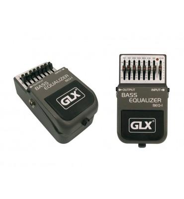 GLX BEQ-1 Equalizzatore a pedale per basso 7 bande 50Hz-10KHz