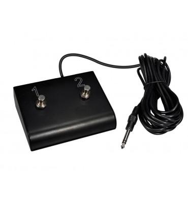 GLX GFS-2 Footswitch con 2 interruttori per amplificatore chitarra