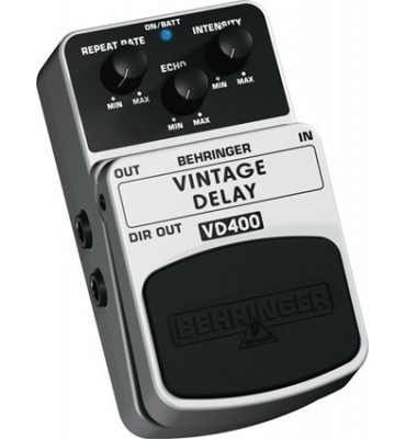 BEHRINGER - VD400 VINTAGE DELAY Effetto a pedale per Chitarra