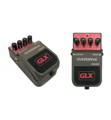 GLX OD-100 Overdrive effetto a pedale per chitarra