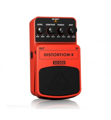 BEHRINGER XD300 Distortion-X Effetto a pedale per chitarra