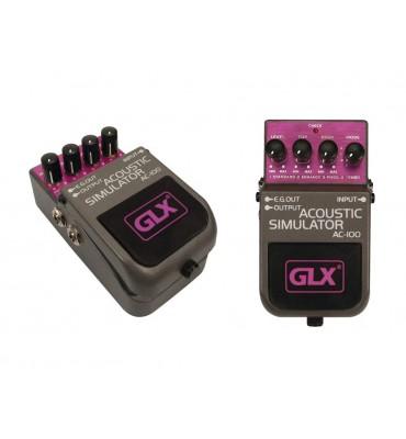 GLX AC-100 Acoustic simulator effetto a pedale per chitarra