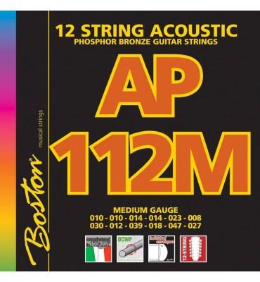 Boston AP-112-M Muta per chitarra acustica 12 corde 010-047