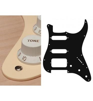 Boston ST-123-C Pickguard Battipenna crema per chitarra tipo Stratocaster SSH