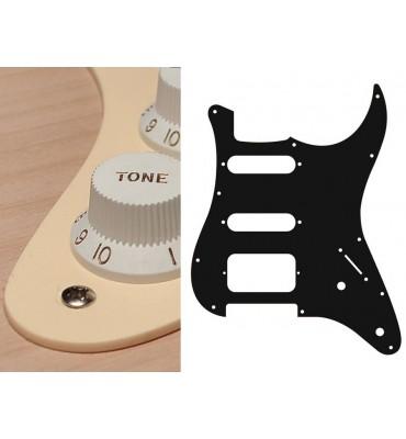 Boston ST-122-C Pickguard Battipenna crema per chitarra tipo Stratocaster SSH