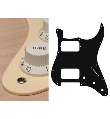 Boston ST-133-C Pickguard Battipenna crema per chitarra tipo Stratocaster HH