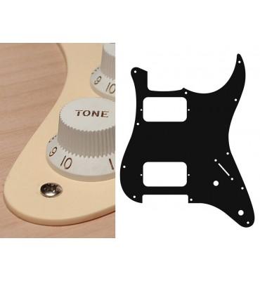 Boston ST-132-C Pickguard Battipenna crema per chitarra tipo Stratocaster HH