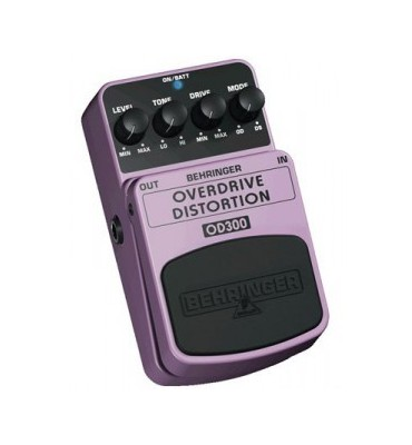 BEHRINGER OD300 Overdrive/Distortion Effetto a pedale per chitarra