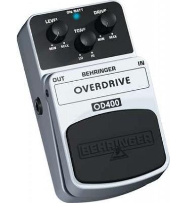 BEHRINGER OD400 Overdrive Effetto a pedale per chitarra