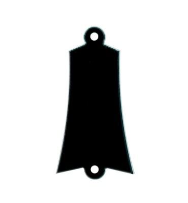 Boston LRC-36-B Cover truss rod 2 strati nero bianco per chitarra e basso