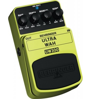 BEHRINGER - UW300 ULTRA WAH Effetto a pedale per Chitarra