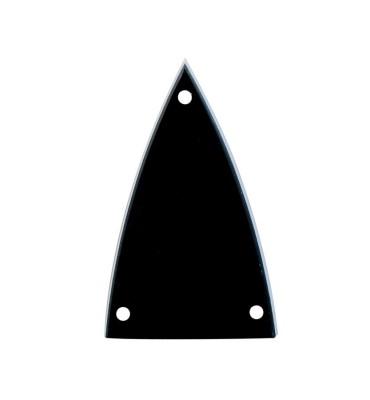 Boston LRC-20-B Cover truss rod 2 strati nero bianco per chitarra e basso