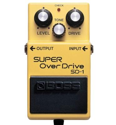 BOSS  SD1 super overdrive Effetto a pedale per Chitarra
