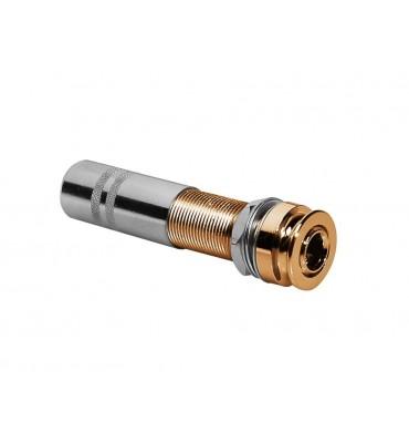 Boston EPJ-48-GD Endpin jack Gold 6,3mm Attacco tracolla per chitarra acustica