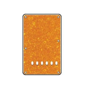 Boston BP-313-PY Backplate tremolo piastra coprimolle per chitarra 86x138mm