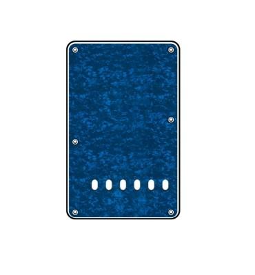 Boston BP-313-PBU Backplate tremolo piastra coprimolle per chitarra 86x138mm