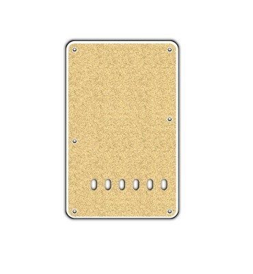Boston BP-213-SGD Backplate tremolo piastra coprimolle per chitarra 86x138mm