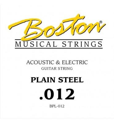 Boston BPL-012 corda singola per chitarra acustica ed elettrica 012