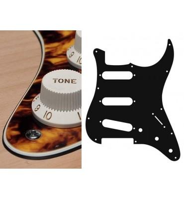 Boston ST-313-MY Battipenna per chitarra tipo Stratocaster SSS giallo marmo