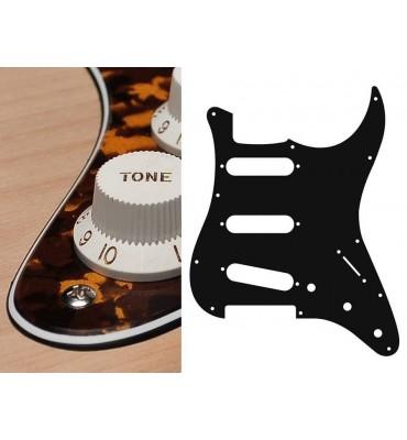 Boston ST-313-RY Battipenna per chitarra tipo Stratocaster SSS giallo tigrato