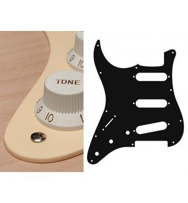 Boston SL-113-C Battipenna per chitarra mancina tipo Stratocaster SSS crema