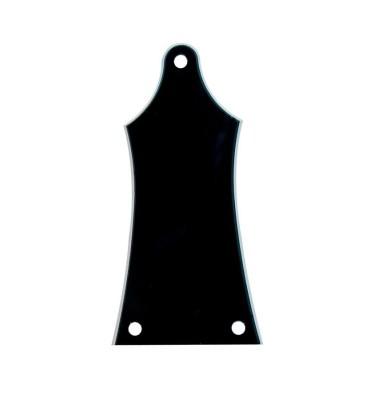 Boston LRC-30-B Cover truss rod 2 strati nero bianco per chitarra e basso