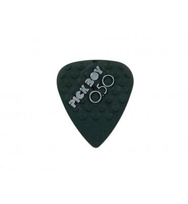Pickboy GPNYL-050/S Set da 12 plettri per chitarra 0,50mm Mega Grip Nylon