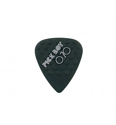 Pickboy GPNYL-070/S Set da 12 plettri per chitarra 0,70mm Mega Grip Nylon