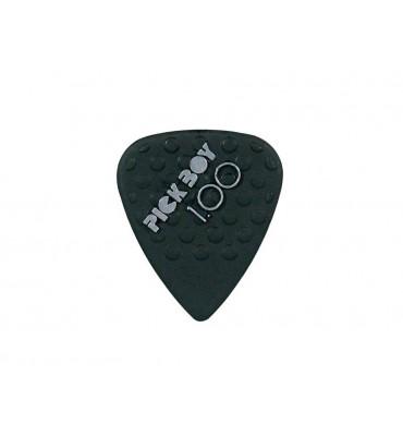 Pickboy GPNYL-100/S Set da 12 plettri per chitarra 1,00mm Mega Grip Nylon