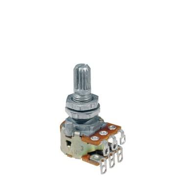 Alps Pm-500-Z Potenziometro blender miscelatore 2 sorgenti 2x500K